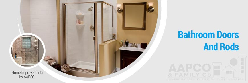 Shower Doors and Rods Remodeling Services in Greater Virginia
