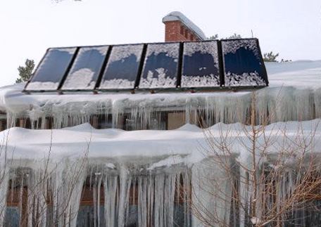 How Our SolarTyme Panels Withstand Winter Weathe