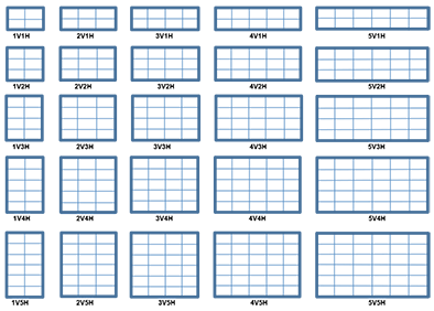 Colonial Grid Patterns