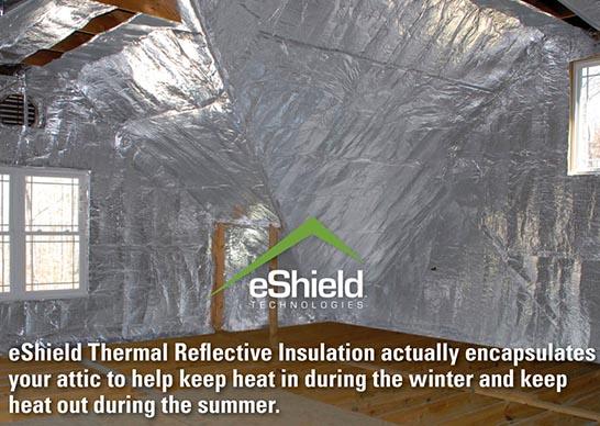 Eshield Reflective Insulation In Richmond And Hampton