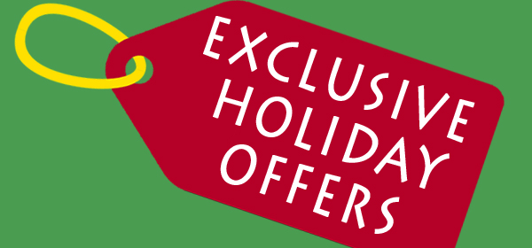Exclusive Holiday Offer