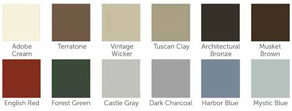 Exterior Or Interior Colors