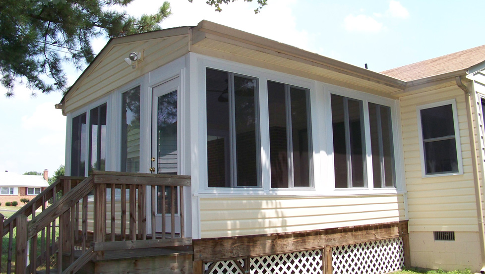 Sunrooms Before After Photo Gallery By Aapco Lc