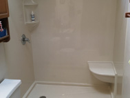 Bath Planet Rowe Shower Remodel
