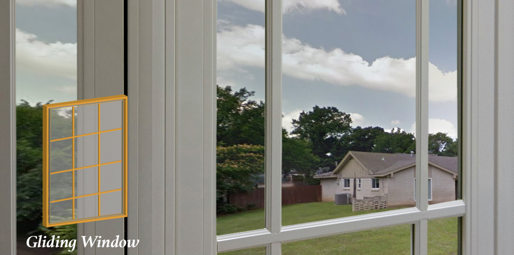 Gliding Window Installations in Greater Virginia